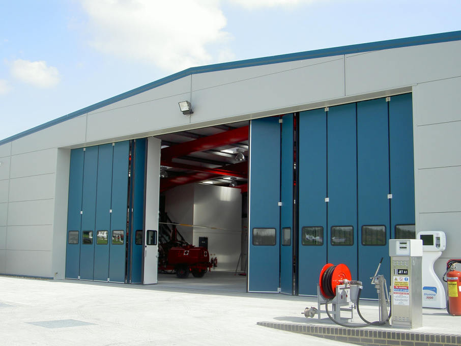 Rollashield Industrial Sliding & Folding Doors | Armashield